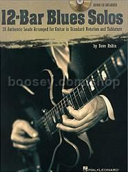 12 Bar Blues Solos (Book & CD) (Guitar Tablature)