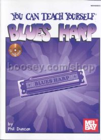 You Can Teach Yourself Blues Harp (Book & CD)