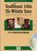 Traditional Irish Tin Whistle Tutor (Book & CD)