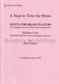 Step In Time For Brass Duet Trumpet/Cornet Med vol.4