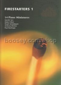 Firestarters 1-14 Piano Minatures