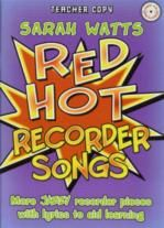 Red Hot Recorder Songs (Teachers Book & CD)