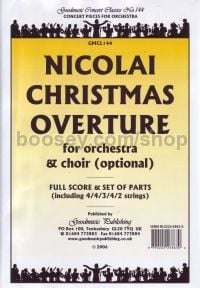Christmas Overture orchestra (Score & Parts)