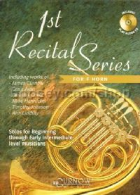 1st Recital Series F Horn (Book & CD)