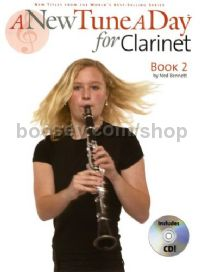 A New Tune A Day for Clarinet Book 2 (Book & CD)