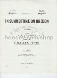 In Summertime On Bredon (in F) (Music Vault Archive Edition)