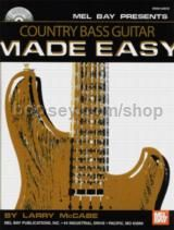 Country Bass Guitar Made Easy (Book & CD)