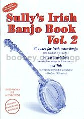 Sully's Irish Banjo Book 2 (Book & CD) (4 Str)