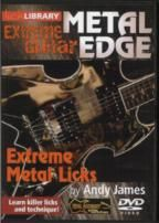 Metal Edge Extreme Metal Licks lick Library (DVD)