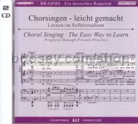 Ein Deutsches Requiem Op. 45 Alto (CD Only) (MusicPartner Play-Along series) Alto Part