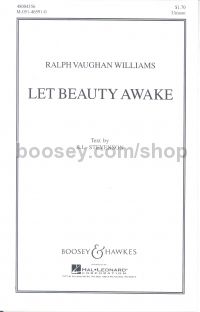 Let Beauty Awake - choral unison & piano