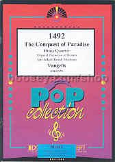 1492 Conquest of Paradise for Brass Quartet