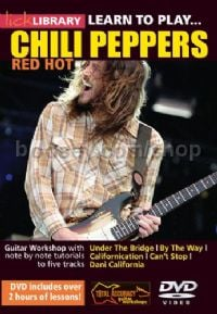 Learn To Play Red Hot Chili Peppers (Lick Library DVD)