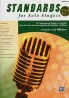 Standards For Solo Singers med/high (Book & CD)