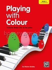 Playing With Colour Book 3: Late Elementary (Easy Piano)