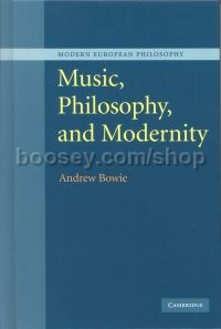 Music Philosophy & Modernity Hardback