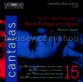 Cantatas vol.15 (BIS Audio CD)