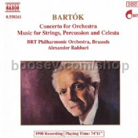 Concerto for Orchestra/Music for Strings, Percussion & Celesta (Naxos Audio CD)