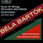 Music for Strings, Percussion & Celesta BB 114, Divertimento for Strings, Sz 113 etc. (BIS Audio CD)