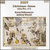 Carmen Suites Nos. 1 and 2/L'Arlesienne Suites Nos. 1 and 2 (Naxos Audio CD)