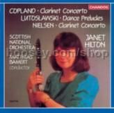 Clarinet Concertos/Dance Preludes (Chandos Audio CD)