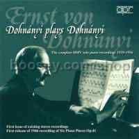 Dohnányi plays Dohnányi (APR Audio CD)