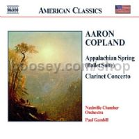 Three Latin American Sketches/Appalachian Spring/Clarinet Concerto/Quiet City (Naxos Audio CD)