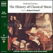 History Of Classical Music (Naxos Audiobook Spoken Word CD) 4-CD Box Set