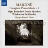 Complete Piano Music vol.1 (Naxos Audio CD)