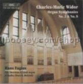 Organ Symphonies No2 & No8 (BIS Audio CD)