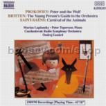 Peter & The Wolf Op 67/Young Person's Guide to the Orchestra/Carnaval of Animals (Naxos Audio CD)