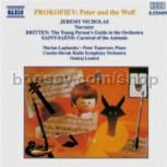 Peter & The Wolf Op 67/Carnival of Animals/Young Person's Guide to the Orchestra (Naxos Audio CD)