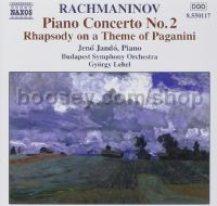 Rhapsody on a Theme of Paganini/Piano Concerto No. 2 in C minor Op. 18 (Naxos Audio CD)