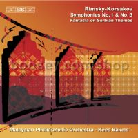 Symphonies No1 & No3 (BIS Audio CD)