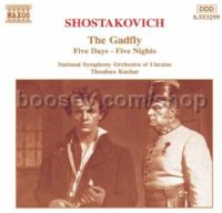 Five Days - Five Nights (suite Op 111a)/The Gadfly (suite Op 97a) (Naxos Audio CD)