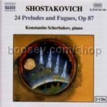 Preludes & Fugues for piano (24) Op 87 - complete (Naxos Audio CD)