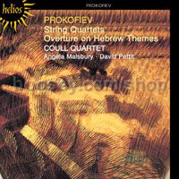 String Quartets Nos. 1 & 2/Overture on Hebrew (Jewish) Themes Op 34 (Hyperion Audio CD)