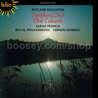 Symphony 3 & Oboe Concerto 1 (Hyperion Audio CD)