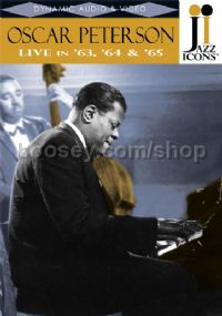 Oscar Peterson Live In '63 '64 & '65 (Jazz Icons DVD)
