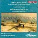 Triumphal Poem/Caucasian Sketches Op. 10/Symphony No.3 `Simfoniya-poema' (Chandos Audio CD)