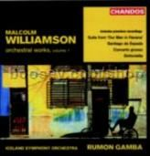 Orchestral Works vol.1 (Chandos Audio CD)