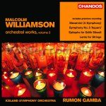 Orchestral Works vol.2 (Chandos Audio CD)