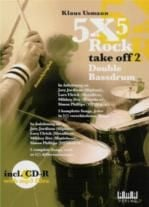 5x5 Rock Take Off 2 double Bass Drum (Book & CD)