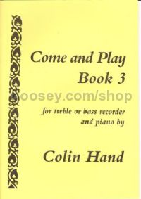 Come and Play, Book 3