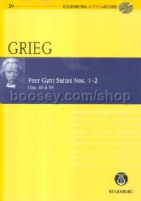 Peer Gynt Suites Nos.1&2 (Orchestra) (Study Score & CD)