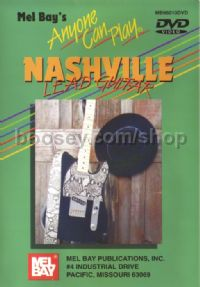 Anyone Can Play Nashville Lead Guitar DVD