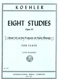 The Progress in Flute Playing, Op. 33, Vol. 3