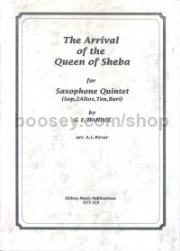 Arrival Of Queen Of Sheba Sax Trio