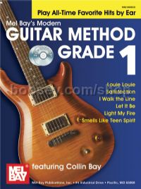 Modern Guitar Method 1 Play All Time Favorite Hits (Book & CD)