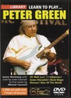 Learn To Play Peter Green Lick Library (DVD)